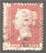 Great Britain Scott 33 Used Plate 204 - TI