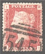 Great Britain Scott 33 Used Plate 74 - RI