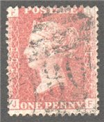Great Britain Scott 33 Used Plate 208 - JF
