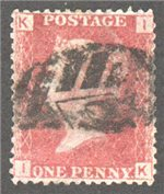 Great Britain Scott 33 Used Plate 74 - IK