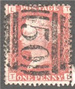 Great Britain Scott 33 Used Plate 174 - TL