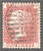 Great Britain Scott 33 Used Plate 103 - NF