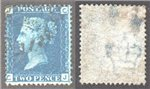 Great Britain Scott 30 Used Plate 13 - CJ (P)