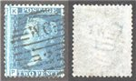Great Britain Scott 29 Used Plate 8 - PK (P)
