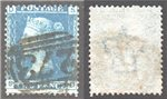 Great Britain Scott 29 Used Plate 7 - SD (P)
