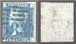 Great Britain Scott 30 Used Plate 13 - JL (P)