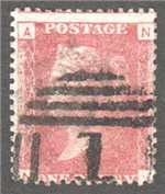 Great Britain Scott 33 Used Plate 170 - NA