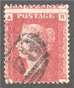 Great Britain Scott 33 Used Plate 79 - RA