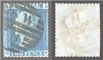 Great Britain Scott 29 Used Plate 9 - BK (P)