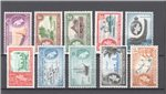 British Solomon Islands Scott 89-99 MNH (Set)