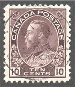 Canada Scott 116 Used VF