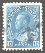 Canada Scott 117iii Used VF