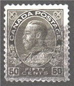 Canada Scott 120a Used VF