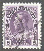 Canada Scott 112 Used VF