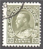 Canada Scott 119iv Used VF