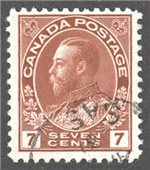 Canada Scott 114 Used VF