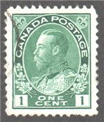 Canada Scott 104 Used VF