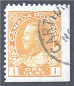 Canada Scott 105as Used VF