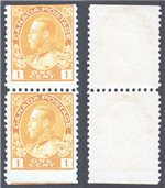 Canada Scott 105as MNG VF Pair (P)