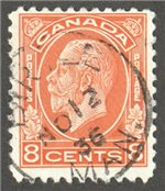 Canada Scott 200 Used VF
