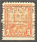 Canada Scott 149as Used VF
