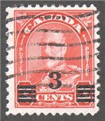 Canada Scott 191a Used VF