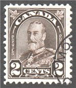 Canada Scott 166 Used VF