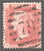 Great Britain Scott 33 Used Plate 81 - NC