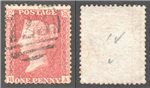 Great Britain Scott 20 Used Plate 50 - BA (P)