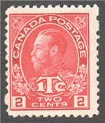 Canada Scott MR3 Mint F