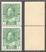 Canada Scott 131 Mint VF Pair (P)