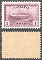 Canada Scott 273 Mint VF (P)