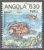 Angola Scott 882a-d MNH (Set)