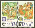 Kenya Scott 717-24 MNH (Set)