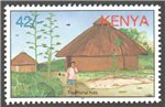 Kenya Scott 725-9 MNH (Set)