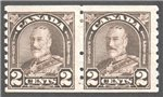 Canada Scott 182 Mint F Pair