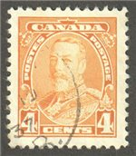 Canada Scott 220 Used VF
