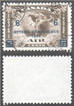 Canada Scott C4 Used VF (P571)