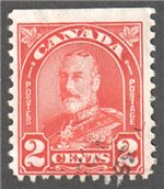 Canada Scott 165bs Used F