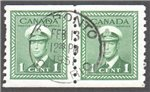 Canada Scott 278 Used Pair VF