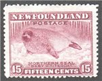 Newfoundland Scott 195b Mint F