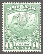 Newfoundland Scott 115 Used VF (P13.9)