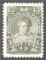 Newfoundland Scott 78 Mint F