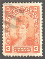 Newfoundland Scott 83 Used VF
