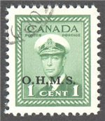 Canada Scott O1 Used VF