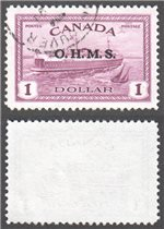 Canada Scott O10 Used VF (P)