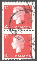 Canada Scott 408 Used Pair VF