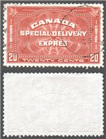 Canada Scott E4 Used VF (P543)