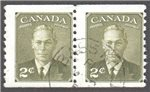 Canada Scott 309 Used F Pair