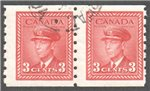 Canada Scott 265 Used F Pair